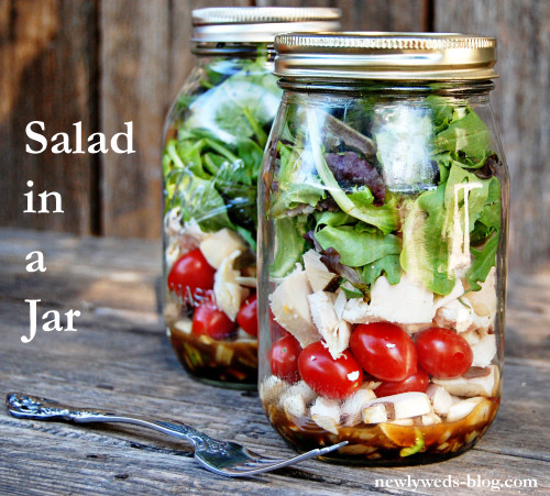 Salad ina Jar