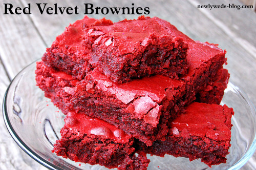 How To Make Red Velvet Cake Mix Brownies